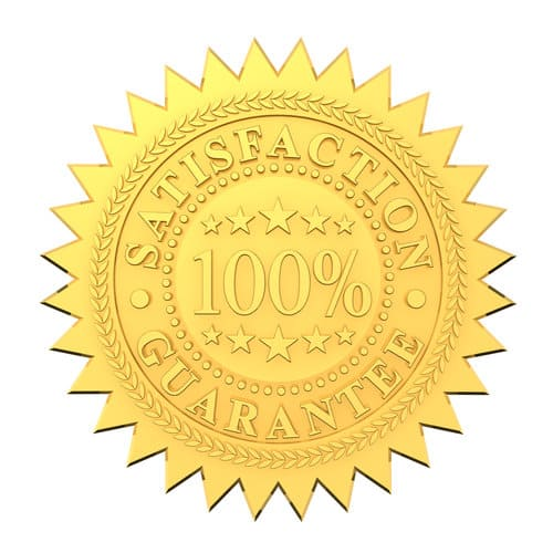 100% satisfaction guaranteed golden seal