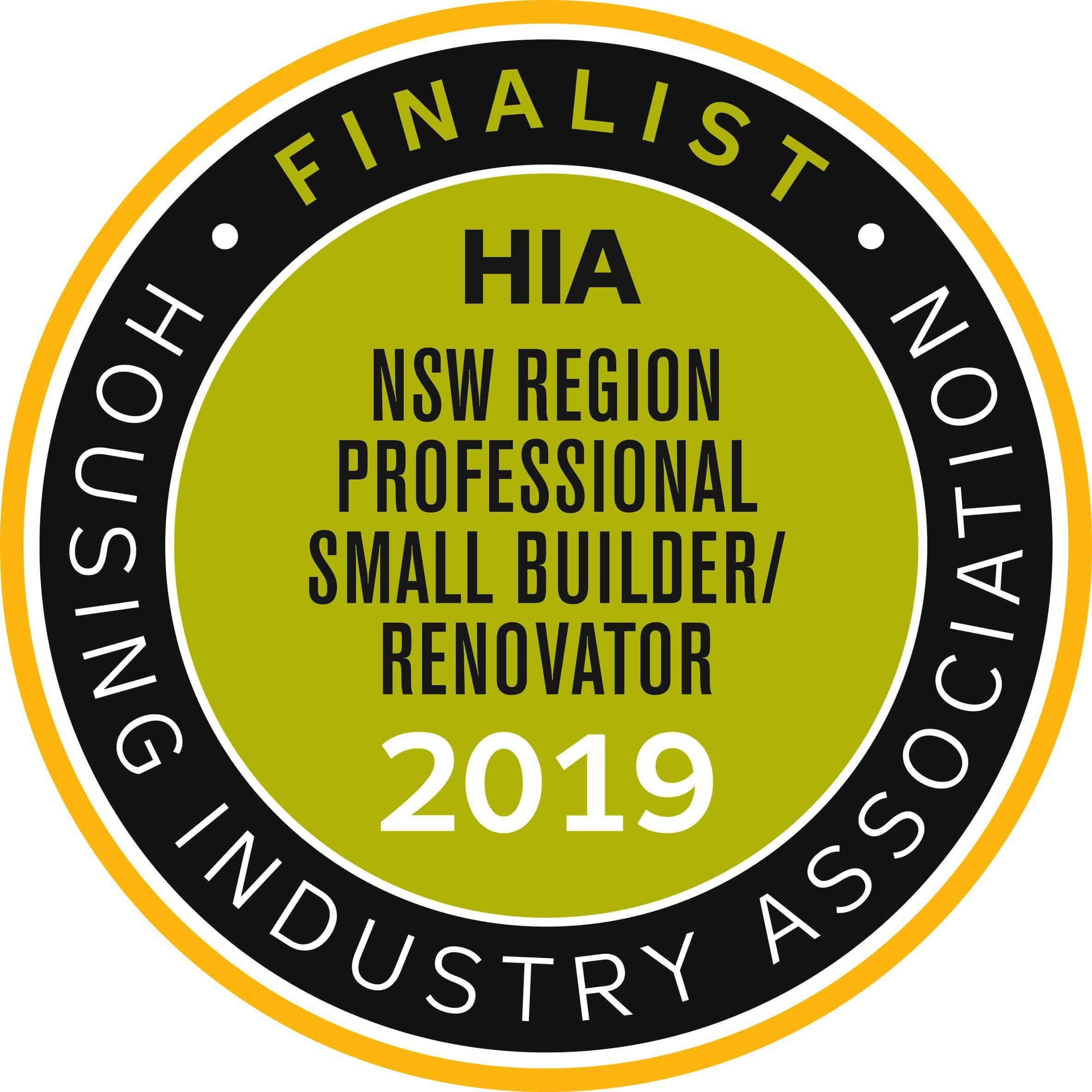finalist HIA awards